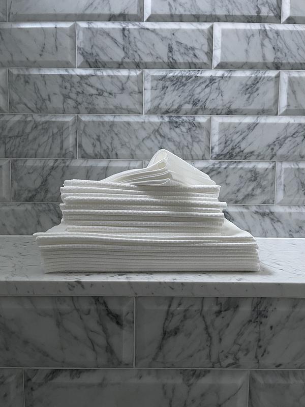 Wegwerphanddoeken wit
